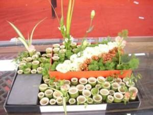 L'ikebana aponais permet l'utilisation de la plante sous toutes ces formes
