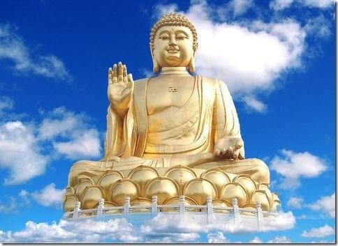 Bouddha bienveillant pour l'humanité