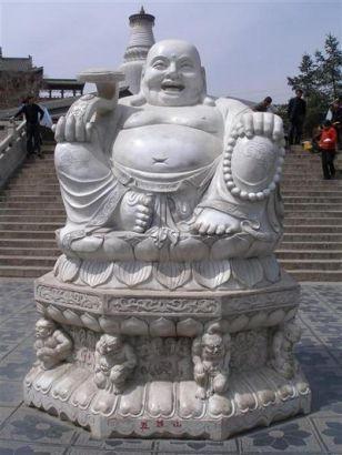 statue bouddha rieur bonheur