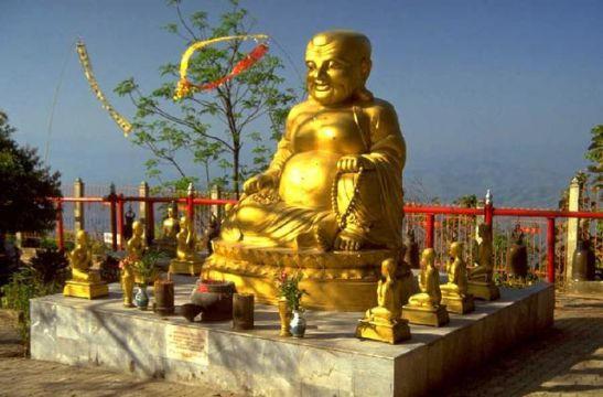 bonheur et bouddha