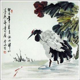 Le symbole de la grue inspire aussi les artistes chinois