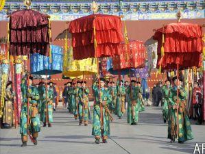 De très belles cérémonies ont lieu pendant les fêtes chinoises
