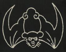 Chauve-souris stylisée
