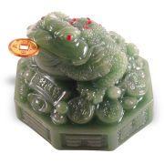 grenouille fortune façon jade