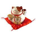 magnifique porcelaine du chat porte bonheur