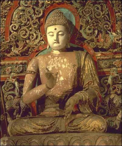 Bouddha méditant