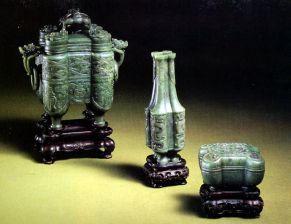 objets de décoration en jade