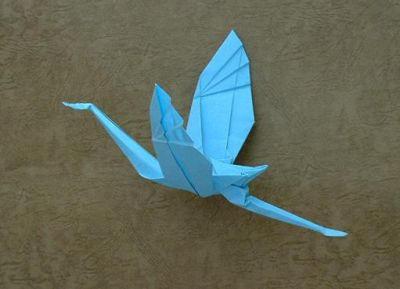 L'origami japonais utilise beaucoup de figures d'animaux