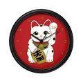 le chat de la fortune japonais peut aussi donner l'heure