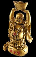 Le bouddha rieur apporte bonheur et fortune