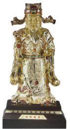 statuette feng shui caishen