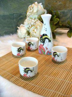 Les services à saké font partie de la tradition japonaise