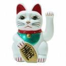 statuette du chat japonais porte bonheur